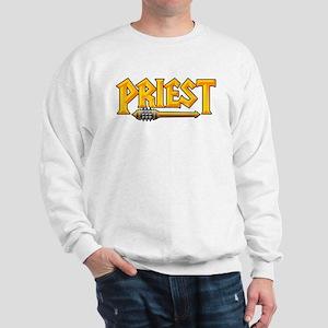 Priest @ eShirtLabs.Com Sweatshirt