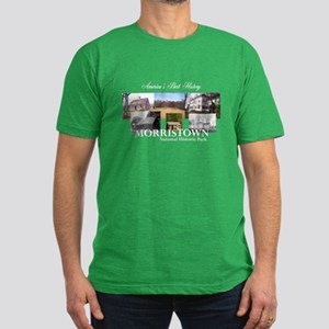 ABH Morristown NHP Men's Fitted T-Shirt (dark)