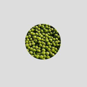 peas, vegetable, Mini Button