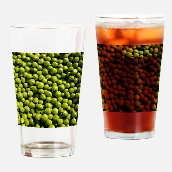 peas, vegetable, Drinking Glass
