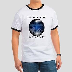 Christ in Christmas Ringer T