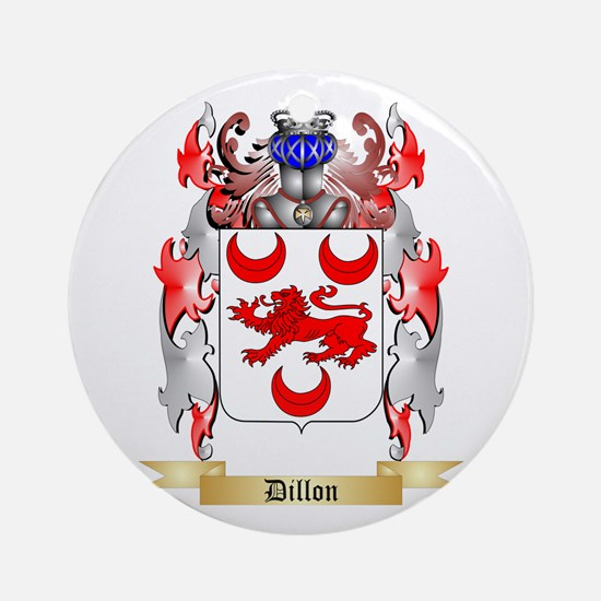 Dillon Ornament (Round)