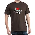 I Love Jewish Boys Dark T-Shirt