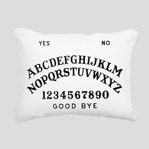 Talking Board Rectangular Canvas Pillow