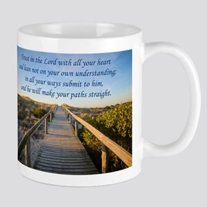 Proverbs 3:5-6 Mugs