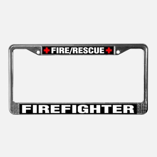 Firefighter License Plate