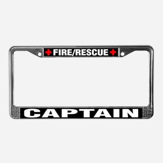 Fire Captain License Plate