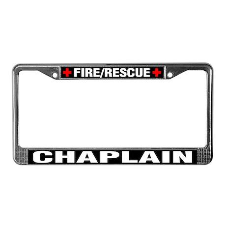 Fire Chaplain License Plate