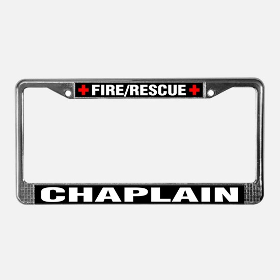 Fire Chaplain License Plate