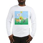 Cat vs Dog Long Sleeve T-Shirt