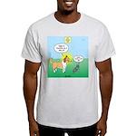 Cat vs Dog Light T-Shirt
