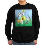 Cat vs Dog Sweatshirt (dark)