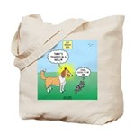 Cat vs Dog Tote Bag