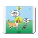 Cat vs Dog Mousepad
