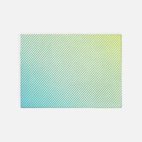 Emo Gradient Stripe 5'x7'Area Rug
