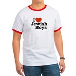 I Love Jewish Boys Ringer T