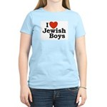 I Love Jewish Boys Women's Light T-Shirt