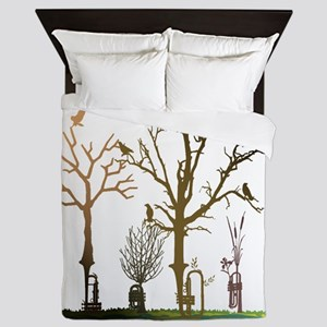 Natural Trumpets Queen Duvet