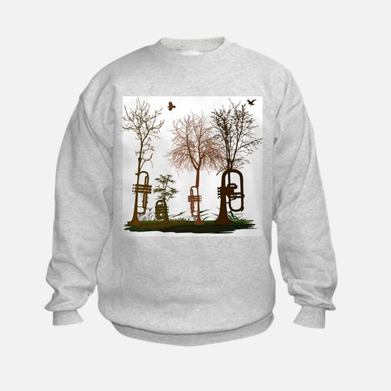 natural trumpets 2 Sweatshirt