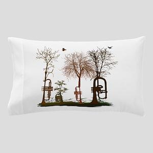 natural trumpets 2 Pillow Case