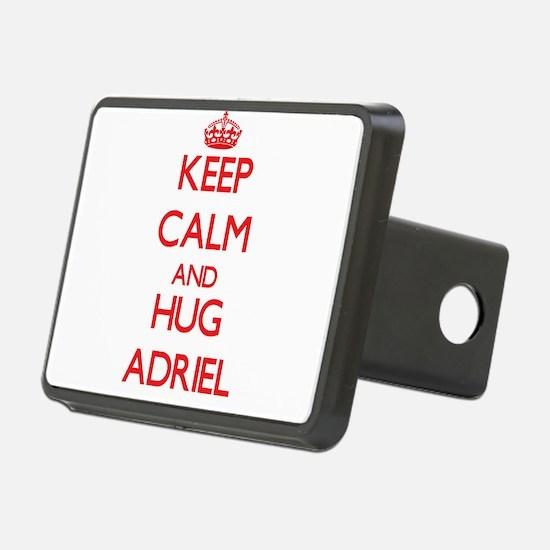 Keep Calm and HUG Adriel Hitch Cover