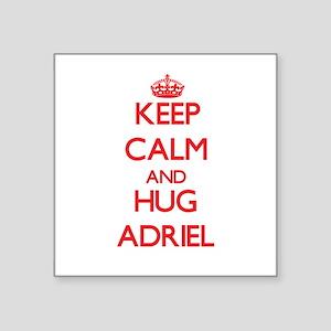 Keep Calm and HUG Adriel Sticker