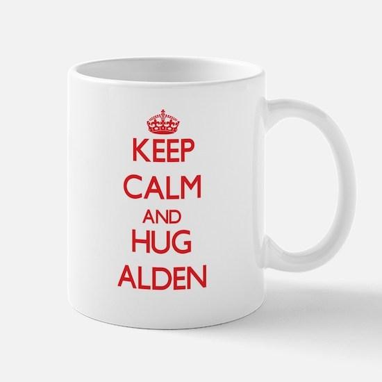 Keep Calm and HUG Alden Mugs