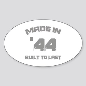 1944 Built To Last Sticker (Oval)