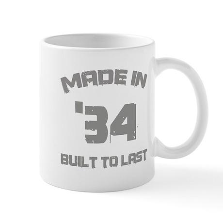 1934 Built To Last Mug