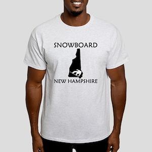 Snowboard New Hampshire T-Shirt