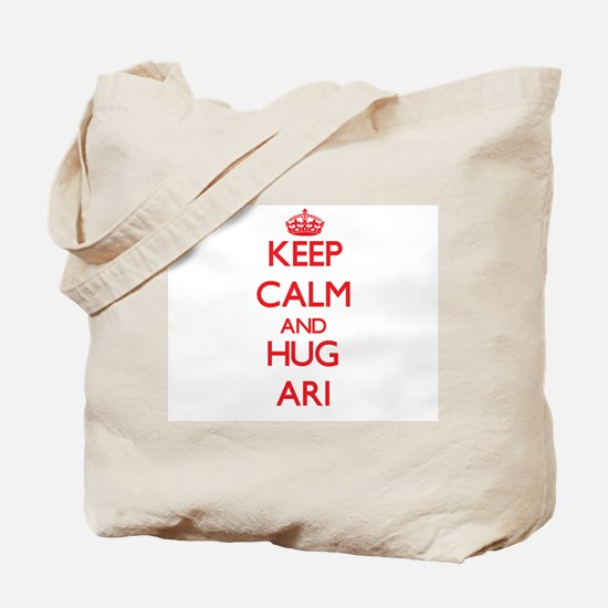 Keep Calm and HUG Ari Tote Bag
