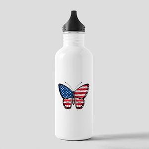 American Butterfly Water Bottle