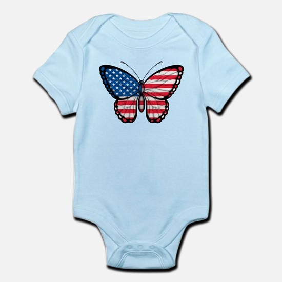 American Butterfly Body Suit