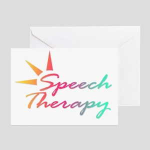Speech Therapy Greeting Cards (Pk of 10)