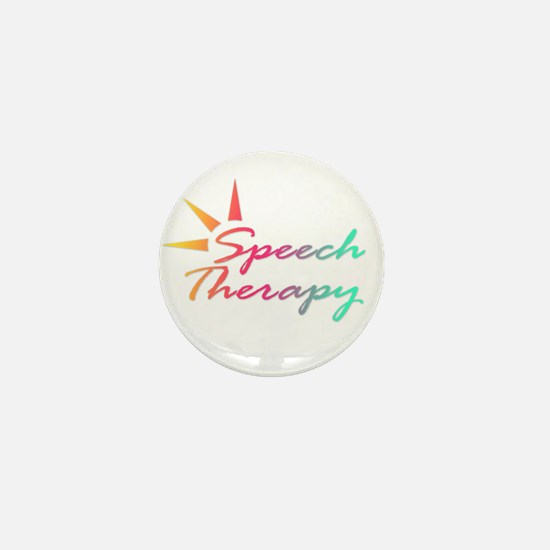 Speech Therapy Mini Button