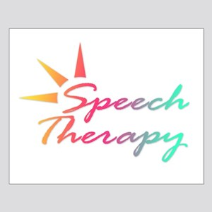 Speech Therapy Small Poster