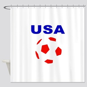 USA Soccer Team 2014 Shower Curtain