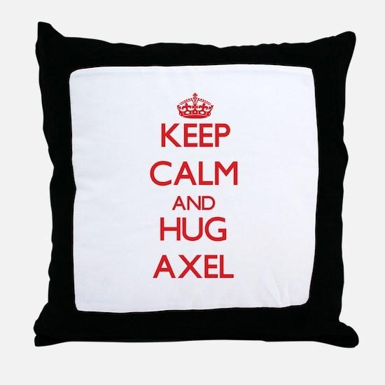 Keep Calm and HUG Axel Throw Pillow