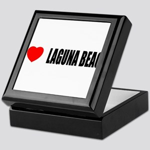 I Love Laguna Beach, Californ Keepsake Box