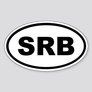Serbia SRB Sticker