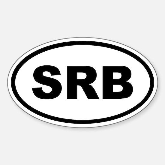 Serbia SRB Decal