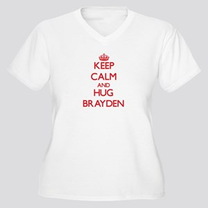 Keep Calm and HUG Brayden Plus Size T-Shirt