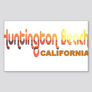 Huntington Beach, California Rectangle Sticker