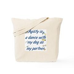 Agility Dance Tote Bag