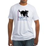 Have Fun in Agility Fitted T-Shirt