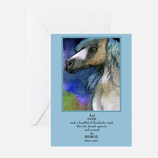Handsome Stallion Greeting Cards (Package
