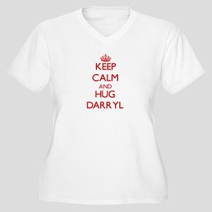 Keep Calm and HUG Darryl Plus Size T-Shirt
