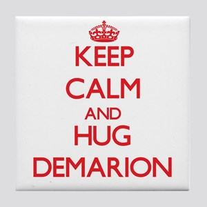 Keep Calm and HUG Demarion Tile Coaster