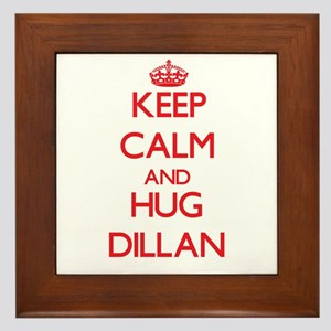 Keep Calm and HUG Dillan Framed Tile