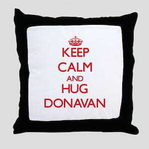 Keep Calm and HUG Donavan Throw Pillow